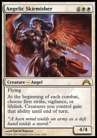 ESCARAMUZADORA ANGELICA / ANGELIC SKIRMISHER (INTRUSION)