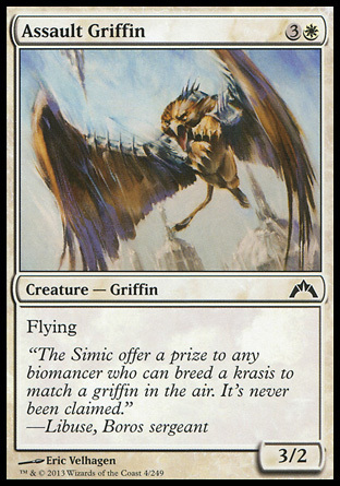 GRIFO DE ASALTO / ASSAULT GRIFFIN (INTRUSION)