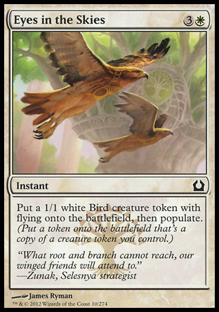 OJOS EN EL CIELO / EYES IN THE SKIES (REGRESO RAVNICA)