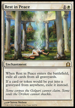 DESCANSE EN PAZ / REST IN PEACE (REGRESO RAVNICA)