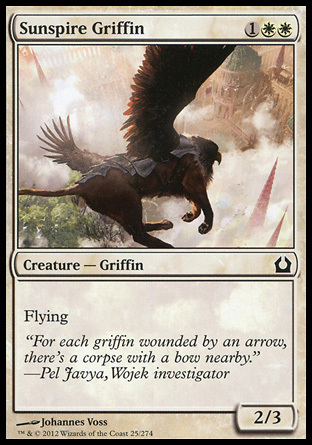GRIFO DE CHAPITEL SOLAR / SUNSPIRE GRIFFIN (REGRESO RAVNICA)