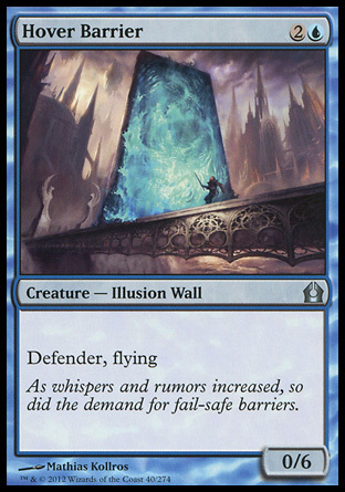 BARRERA AEREA / HOVER BARRIER (REGRESO RAVNICA)