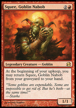 SQUEE TRASGO NABAB / GOBLIN NABOB (MODERN MASTERS)