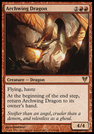 DRAGON ALA ARQUEADA / ARCHWING DRAGON (AVACYN RESTITUIDA)