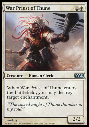 SACERDOTE GUERRERO DE THUNE / WAR PRIEST OF THUNE (M13)