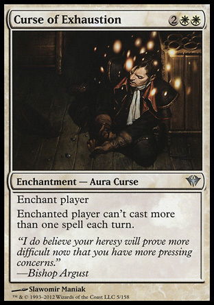 MALDICION DE AGOTAMIENTO / CURSE OF EXHAUSTION (ASCENSO SINIESTRO)
