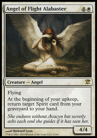 ANGEL DE LA LEGION ALABASTRO / ANGEL OF FLIGHT ALABASTER (INNISTRAD)