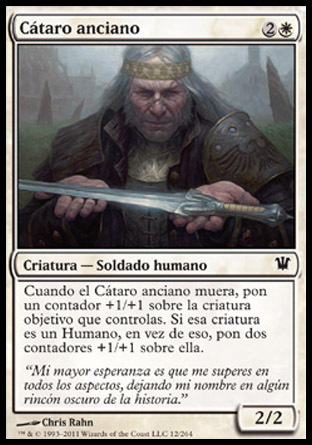 CATARO ANCIANO / ELDER CATHAR (INNISTRAD)