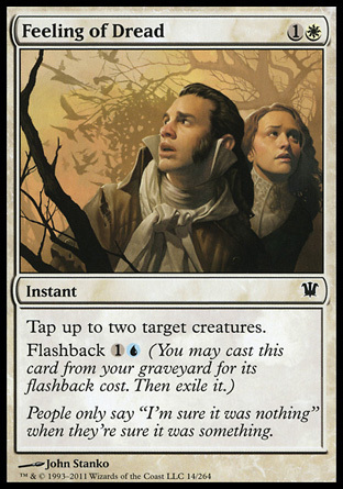 SENTIMIENTO PAVOROSO / FEELING OF DREAD (INNISTRAD)