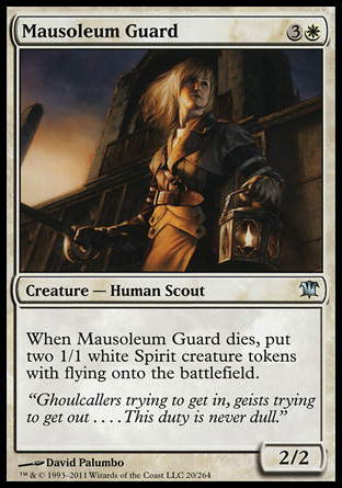 GUARDIA DEL MAUSOLEO / MAUSOLEUM GUARD (INNISTRAD)