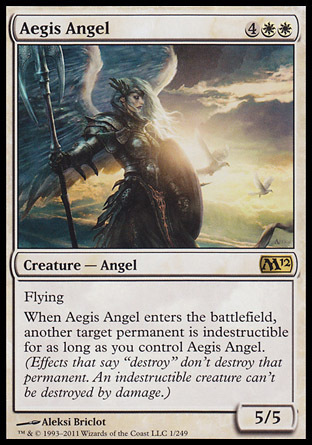 ANGEL DE LA EGIDA / AEGIS ANGEL (M12)