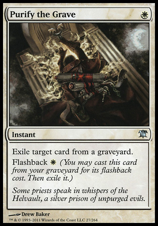 PURIFICAR LA TUMBA / PURIFY THE GRAVE (INNISTRAD)
