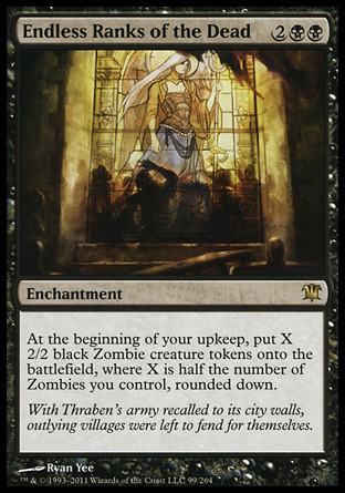 FILAS INTERMINABLES DE MUERTOS / ENDLESS RANKS OF THE DEAD (INNISTRAD)