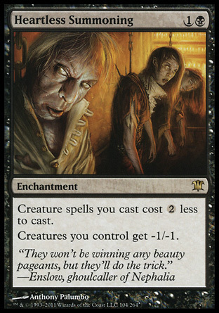 INVOCACION DESCORAZONADA / HEARTLESS SUMMONING (INNISTRAD)