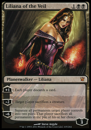 LILIANA DEL VELO / LILIANA OF THE VEIL (INNISTRAD)