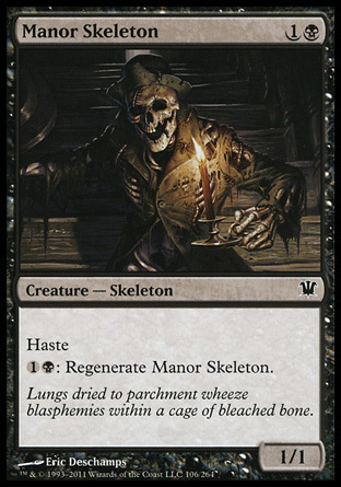 ESQUELETO DE LA MANSION / MANOR SKELETON (INNISTRAD)