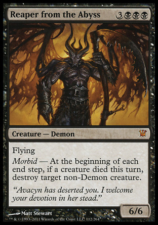 SEGADOR DEL ABISMO / REAPER FROM THE ABYSS (INNISTRAD)