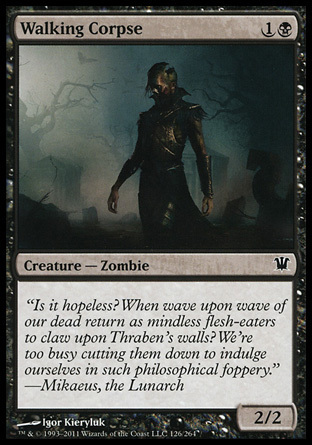 CADAVER AMBULANTE / WALKING CORPSE (INNISTRAD)