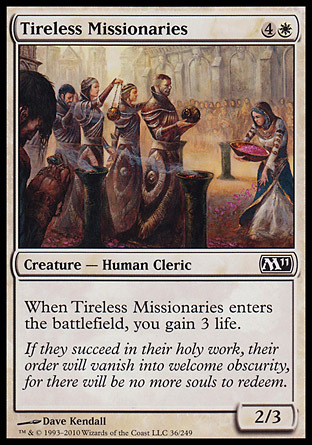MISIONEROS INCANSABLES / TIRELESS MISSIONARIES (M11)