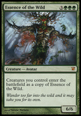 ESENCIA DE LO SALVAJE / ESSENCE OF THE WILD (INNISTRAD)