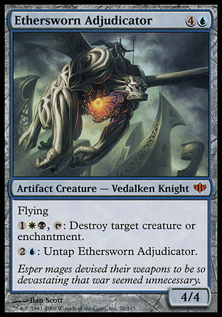 SENTENCIADOR ETEREADO / ETHERSWORN ADJUDICATOR (CONFLUX)