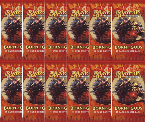 PACK 12x SOBRES NACIDOS DE LOS DIOSES / BORN OF THE GODS (ESPAÑOL)