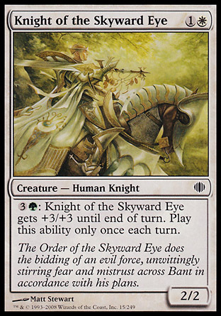 CABALLERO DEL OJO CELESTE / KNIGHT OF THE SKYWARD EYE (FRAGMENTOS ALARA)