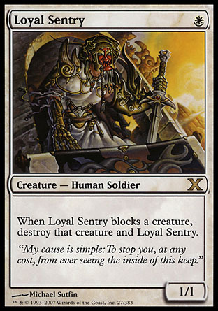 CENTINELA LEAL / LOYAL SENTRY (DECIMA)