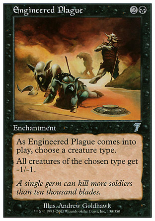 PESTE DISEÑADA / ENGINEERED PLAGUE (SEPTIMA)