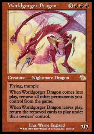 DRAGON TRAGAMUNDOS / WORLDGORGER DRAGON (JUICIO)