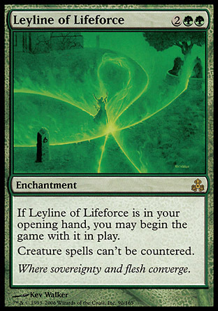 LINEA MISTICA DE LA VITALIDAD / LEYLINE OF LIFEFORCE (PACTO GREMIOS)
