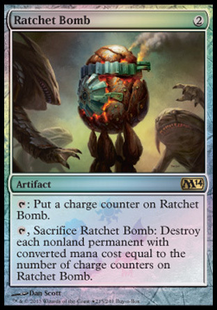 BOMBA TRINQUETE / RATCHET BOMB (M14 BUY A BOX PROMO)