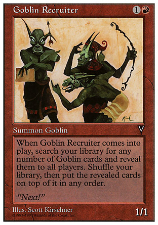 RECLUTADOR TRASGO / GOBLIN RECRUITER (ANTHOLOGIES)