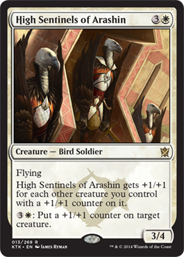 ALTOS CENTINELAS DE ARASHIN / HIGH SENTINELS OF ARASHIN (KHANS OF TARKIR)