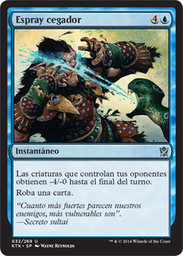 ESPRAY CEGADOR / BLINDING SPRAY (KHANS OF TARKIR)