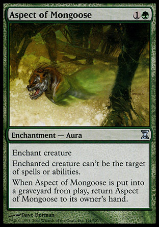 ASPECTO DE MANGOSTA / ASPECT OF MONGOOSE (ESPIRAL TIEMPO)