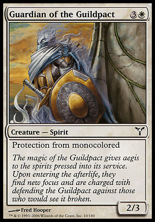 GUARDIAN DEL PACTO ENTRE GREMIOS / GUARDIAN OF THE GUILDPACT (DISCORDIA)
