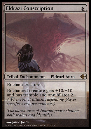 CONSCRIPCION ELDRAZI / ELDRAZI CONSCRIPTION (LEVANTAMIENTO ELDRAZI)