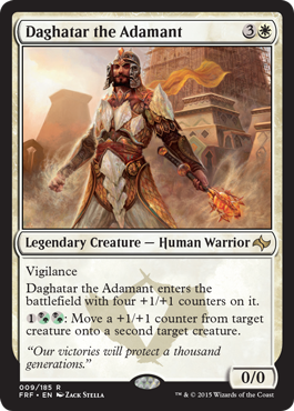 DAGATAR EL INFLEXIBLE / DAGHATAR THE ADAMANT (DESTINO REESCRITO)