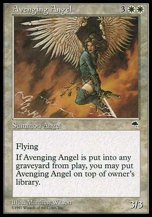 ANGEL VENGADOR / AVENGING ANGEL (TEMPESTAD)