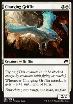 GRIFO A LA CARGA / CHARGING GRIFFIN (MAGIC ORIGENES)