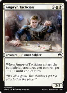 ESTRATEGA AMPRYNIO / AMPRYN TACTICIAN (MAGIC ORIGENES)