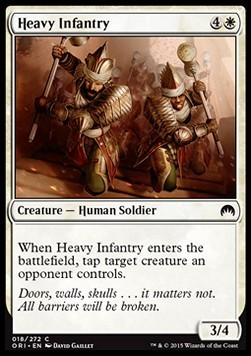 INFANTERIA PESADA / HEAVY INFANTRY (MAGIC ORIGENES)