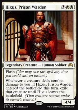 HIXUS CARCELERO / HIXUS PRISON WARDEN (MAGIC ORIGENES)