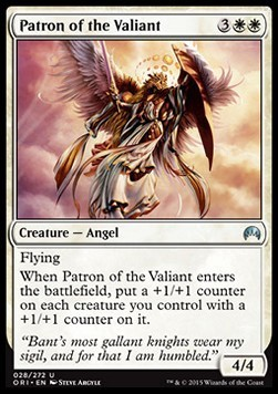 PATRON DE LOS VALIENTES / PATRON OF THE VALIANT (MAGIC ORIGENES)