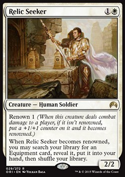 BUSCADOR DE RELIQUIAS / RELIC SEEKER (MAGIC ORIGENES)