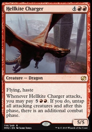 ENGENDRO CARGADOR / HELLKITE CHARGER (MODERN MASTERS 2015)