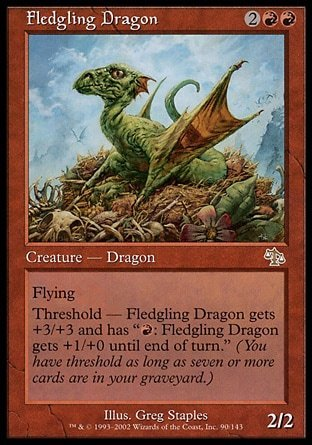 DRAGON NOVATO / FLEDGLING DRAGON (JUICIO)