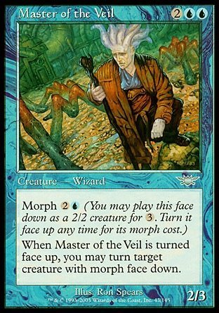 AMO DEL VELO / MASTER OF THE VEIL (LEGIONES)