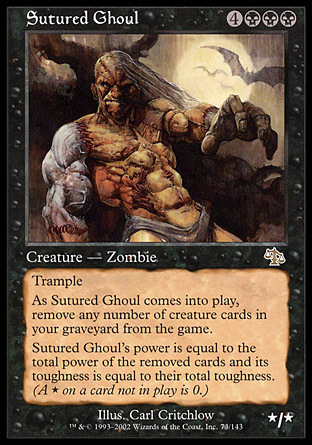 NECROFAGO SUTURADO / SUTURED GHOUL (JUICIO)